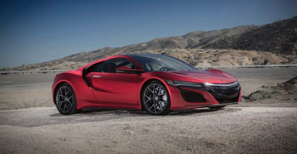 91 A 2020 Honda Nsx Research New