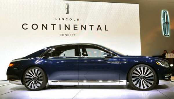 91 A 2020 Lincoln Continental Exterior