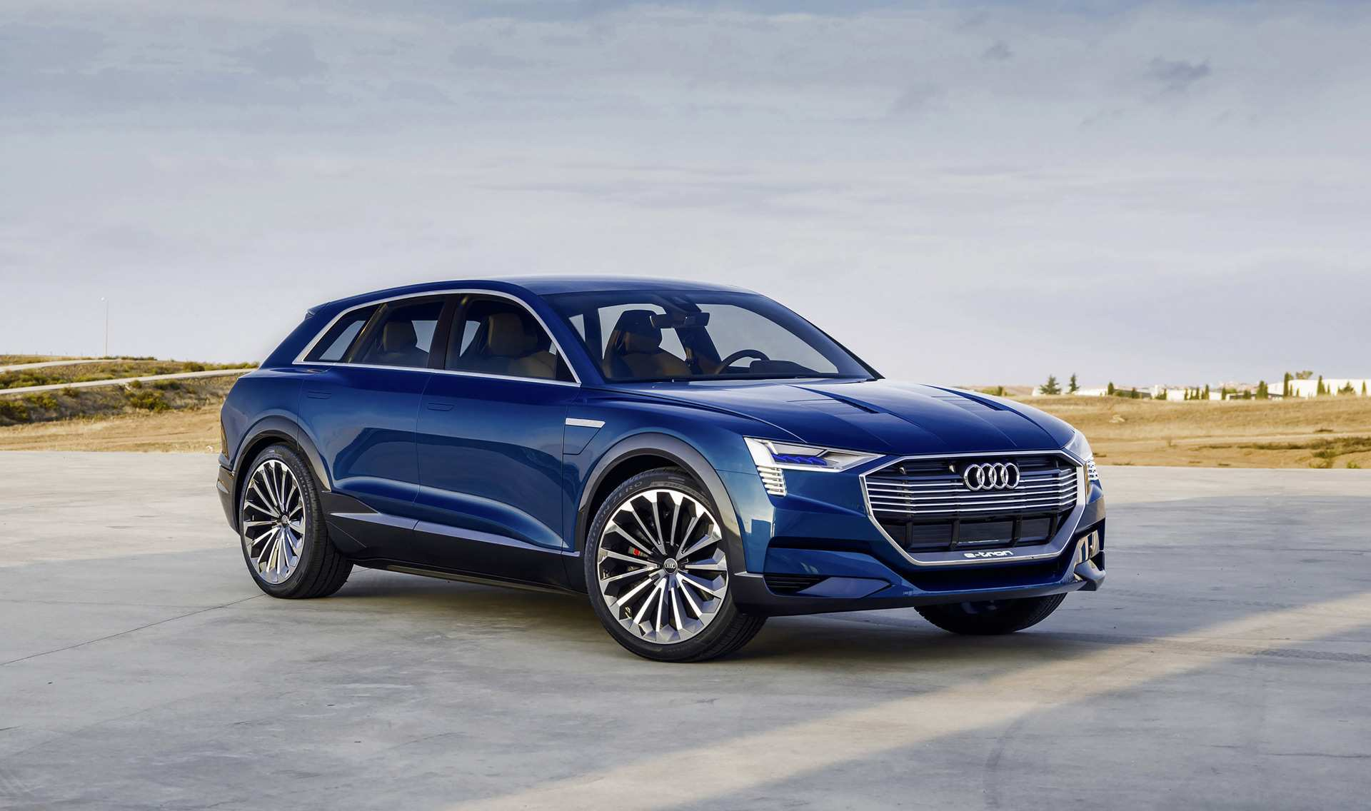 91 A Audi Electric Suv 2020 Exterior