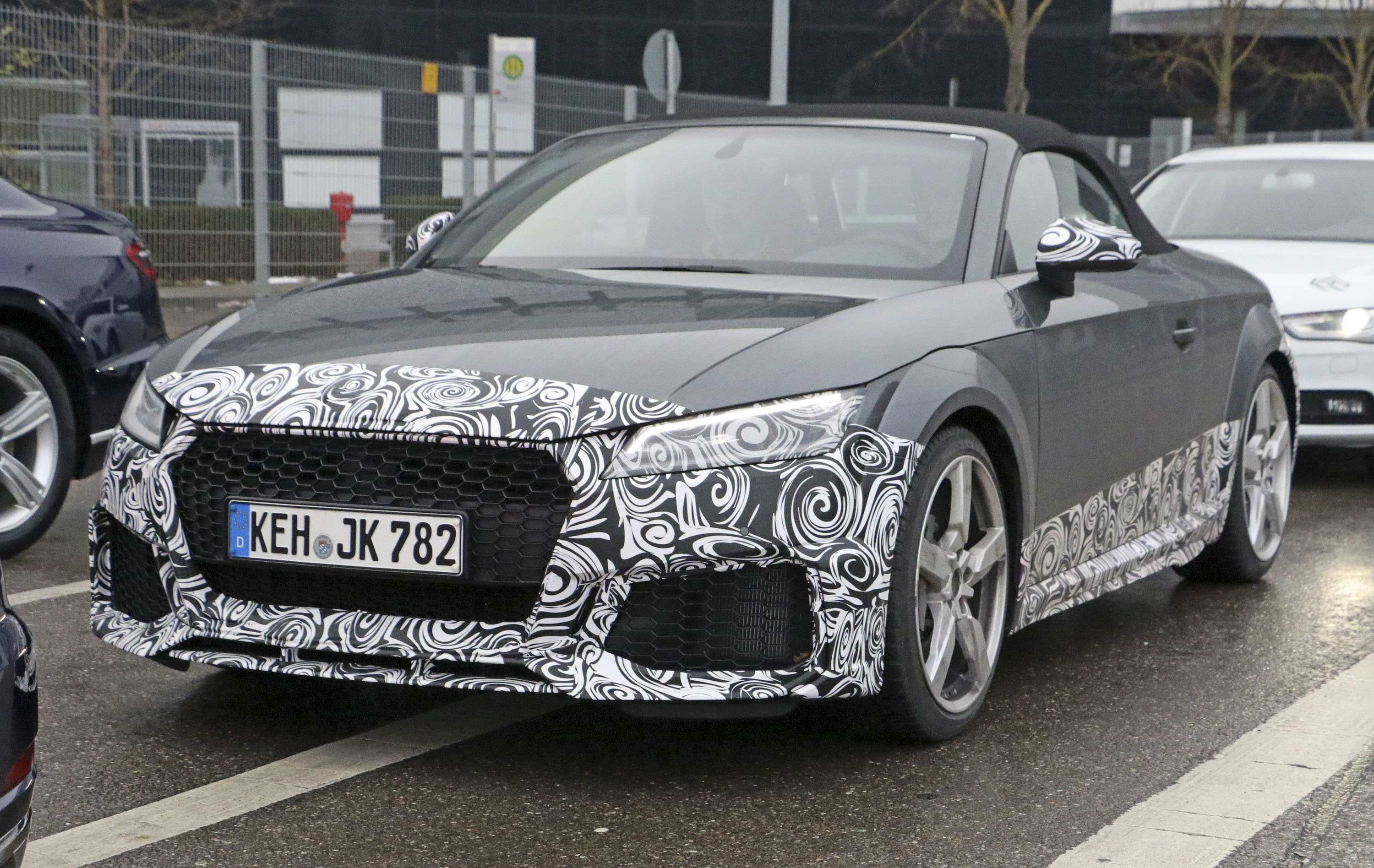 91 All New 2019 Audi Tt Rs Exterior And Interior