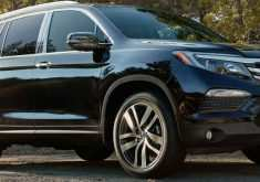 2020 Honda Pilot Spy Photos