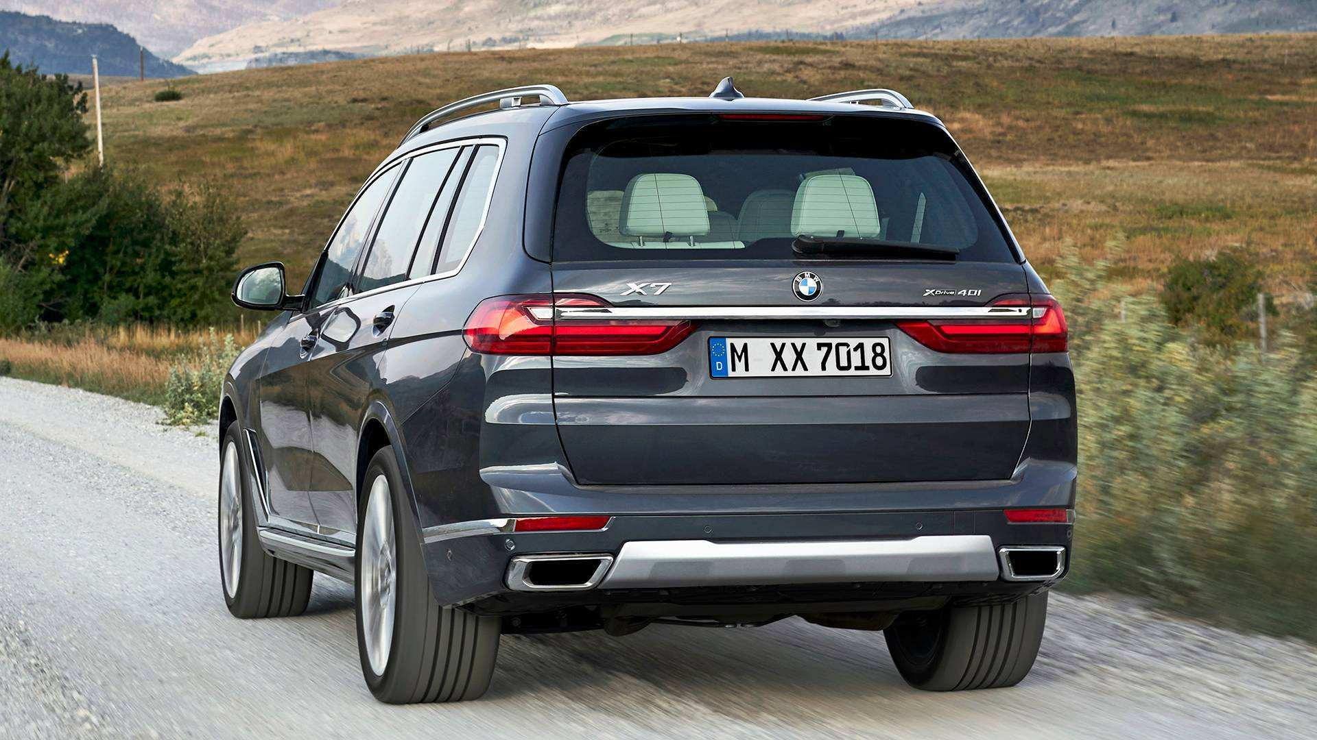 91 New 2019 BMW X7 Suv Spy Shoot