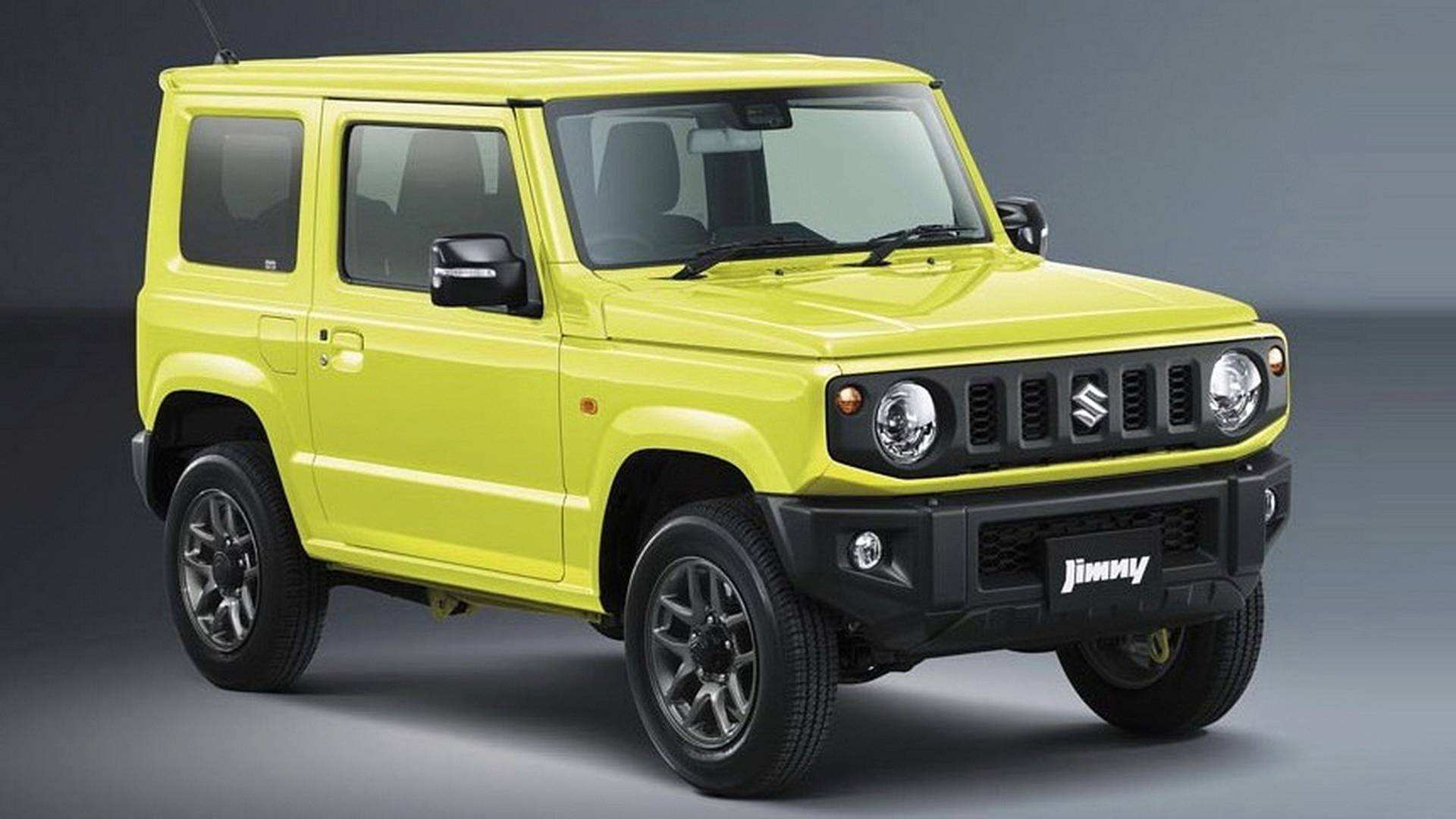 91 New 2019 Suzuki Jimny Model Review And Release Date