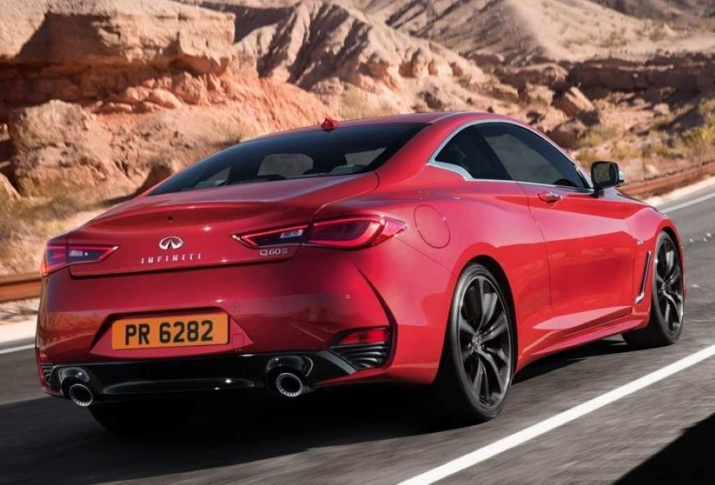 91 New 2020 Infiniti Q60 Red Sport New Concept