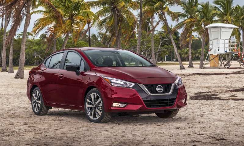 91 New Nissan Versa 2020 Redesign And Concept