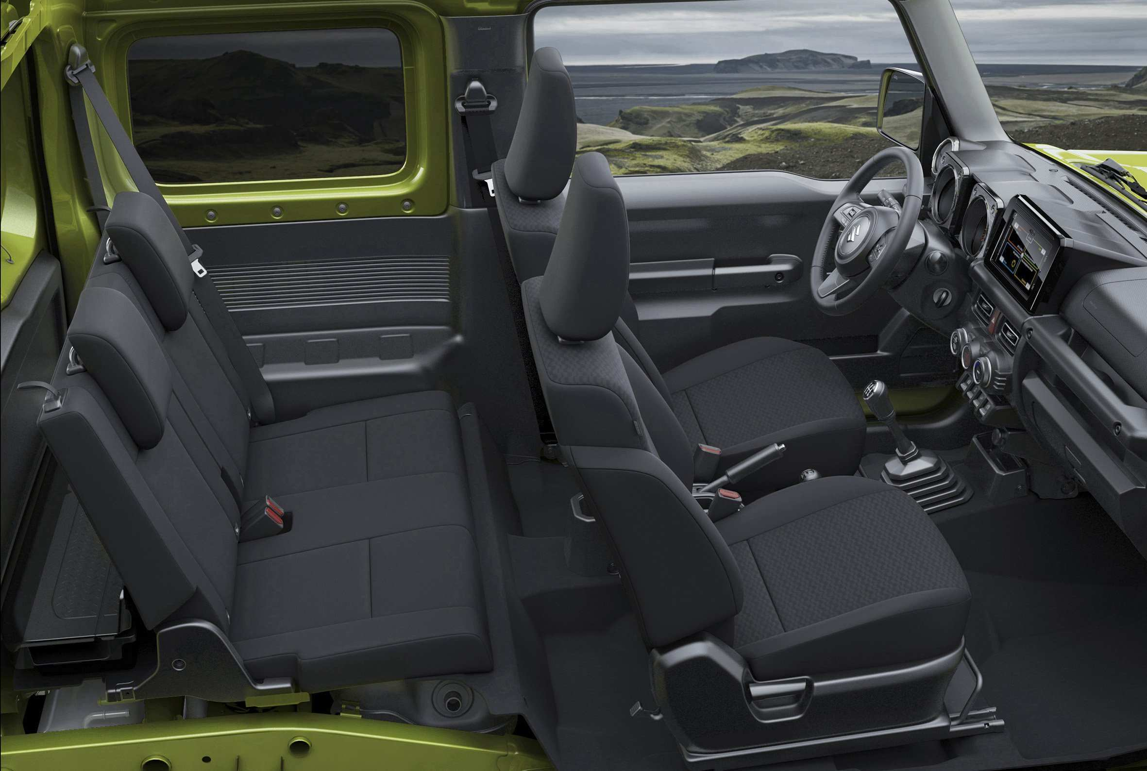 91 The 2019 Suzuki Jimny Model Interior