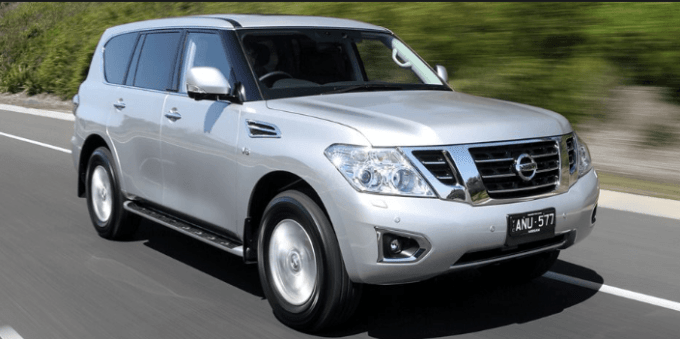 91 The 2020 Nissan Patrol Images