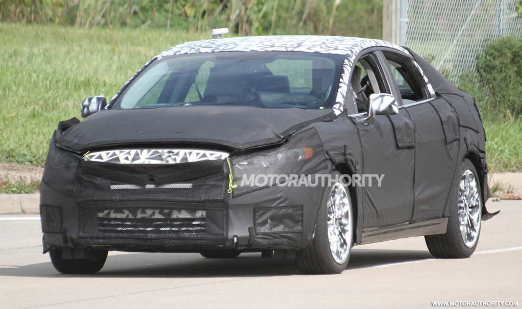 91 The 2020 The Spy Shots Ford Fusion New Model And Performance