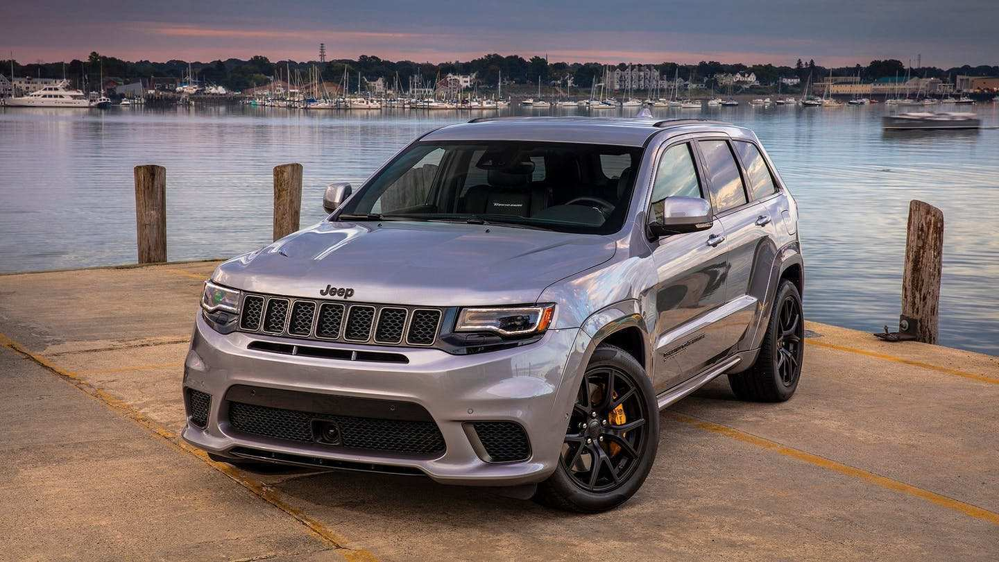 91 The Best 2019 Grand Cherokee Srt Hellcat Model