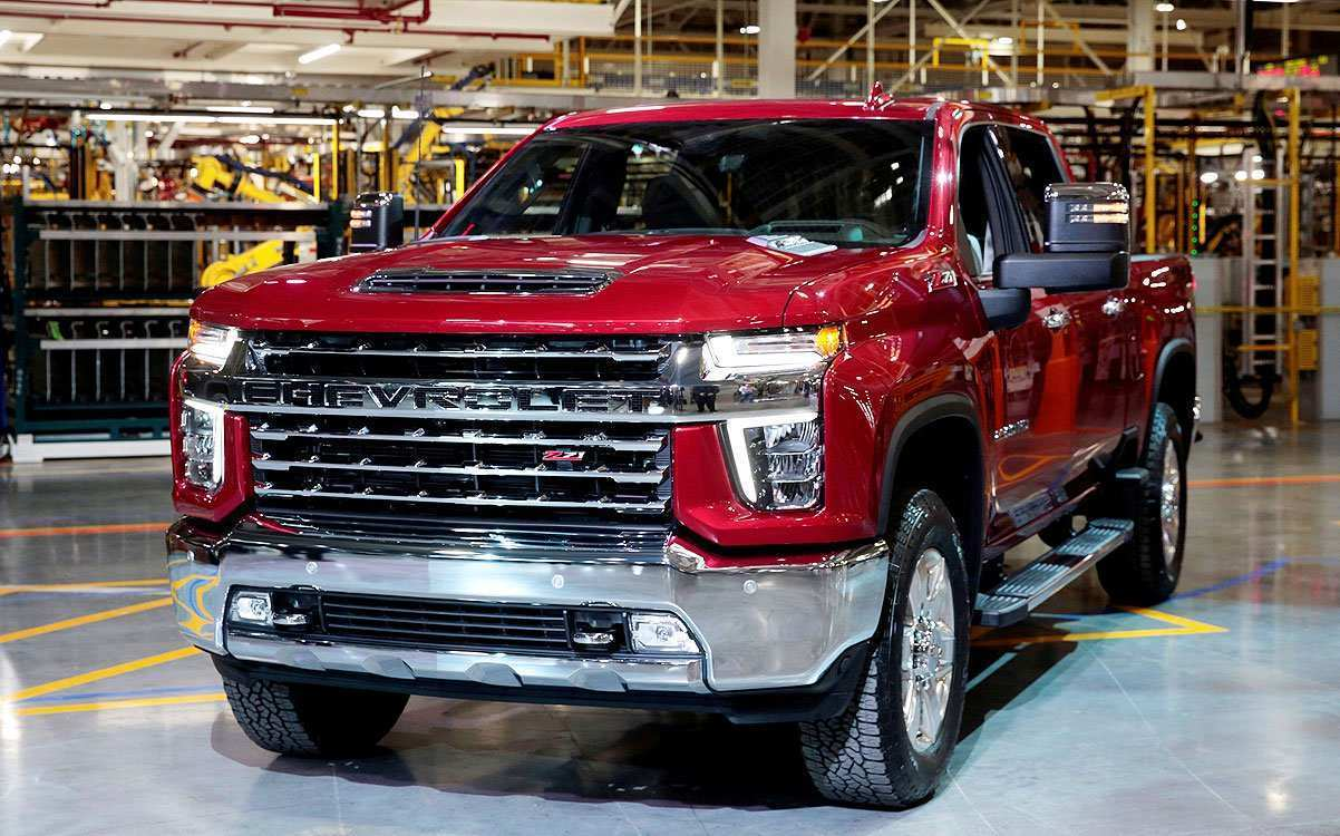 91 The Chevrolet Silverado 2020 Concept And Review