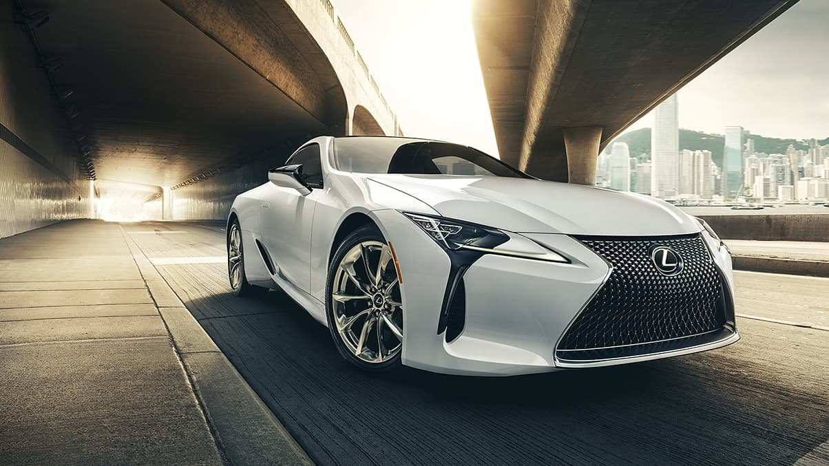 91 The Lexus 2019 Coupe Speed Test