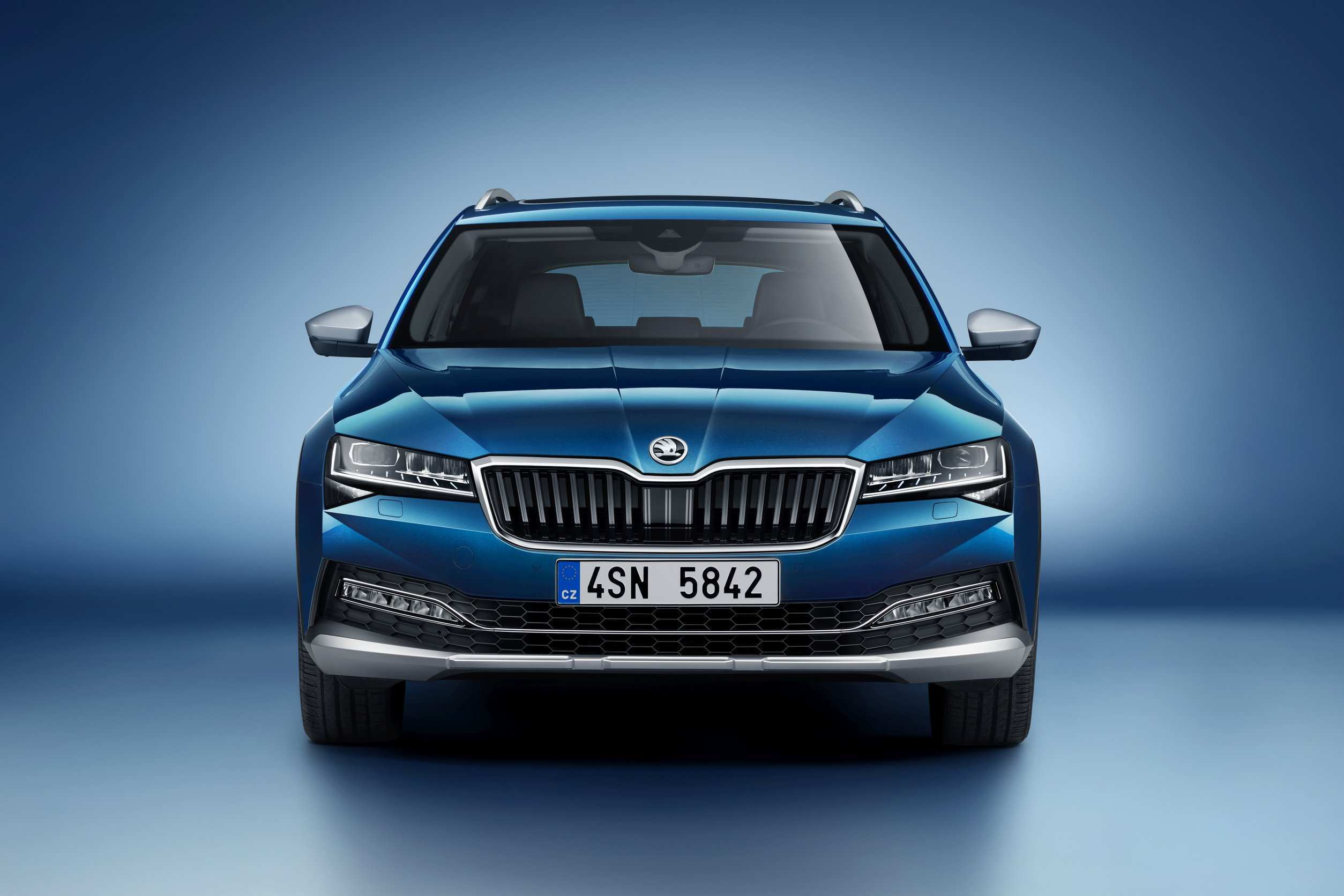 92 A 2019 Skoda Superb New Concept