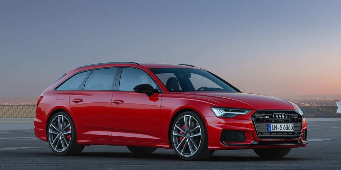 92 A 2020 Audi S6 Research New