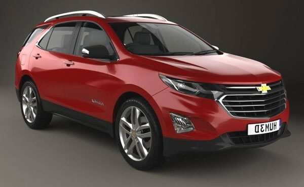 92 A 2020 Chevy Equinox Model
