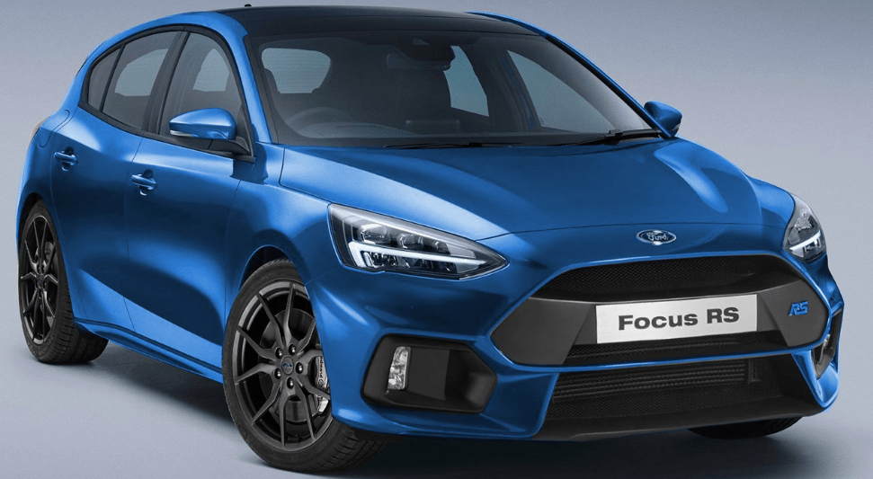 92 A 2020 Ford Focus RS Model