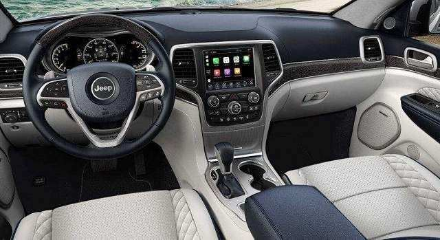 92 A 2020 Jeep Grand Cherokee Interior Redesign