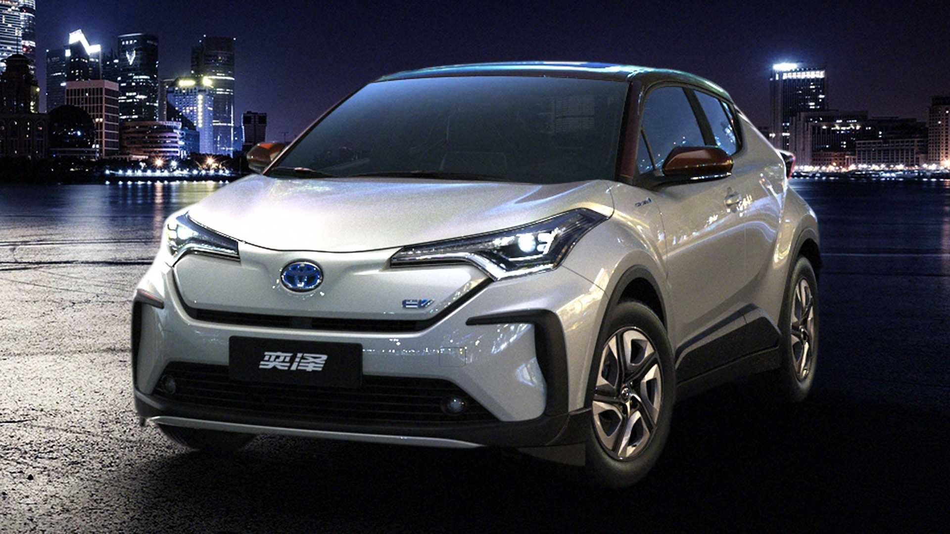 92 A 2020 Toyota C Hr Compact Images