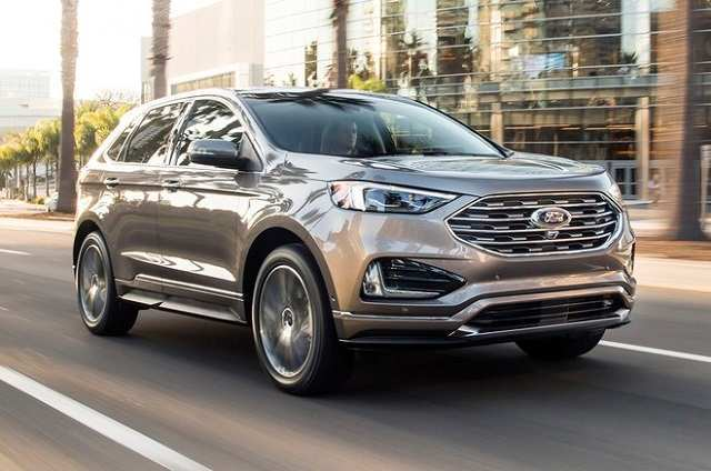 92 All New 2020 Ford Edge Sport Model