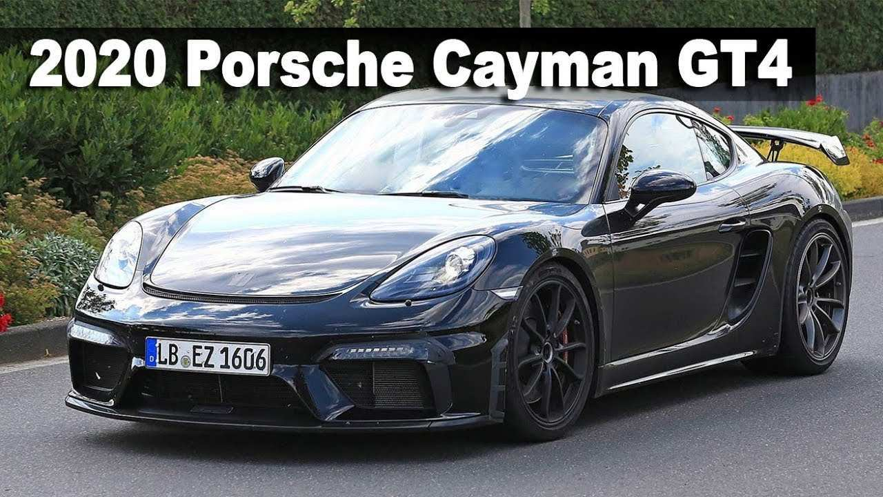 92 All New 2020 Porsche Cayman First Drive