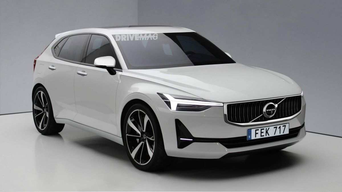 92 All New Volvo V40 2019 Interior Redesign And Concept