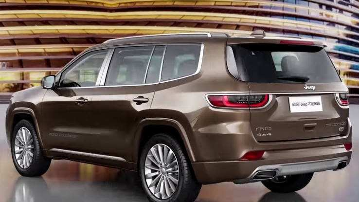 92 Best 2019 The Jeep Grand Wagoneer Exterior