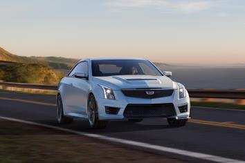 92 New 2019 Cadillac ATS V Coupe Interior