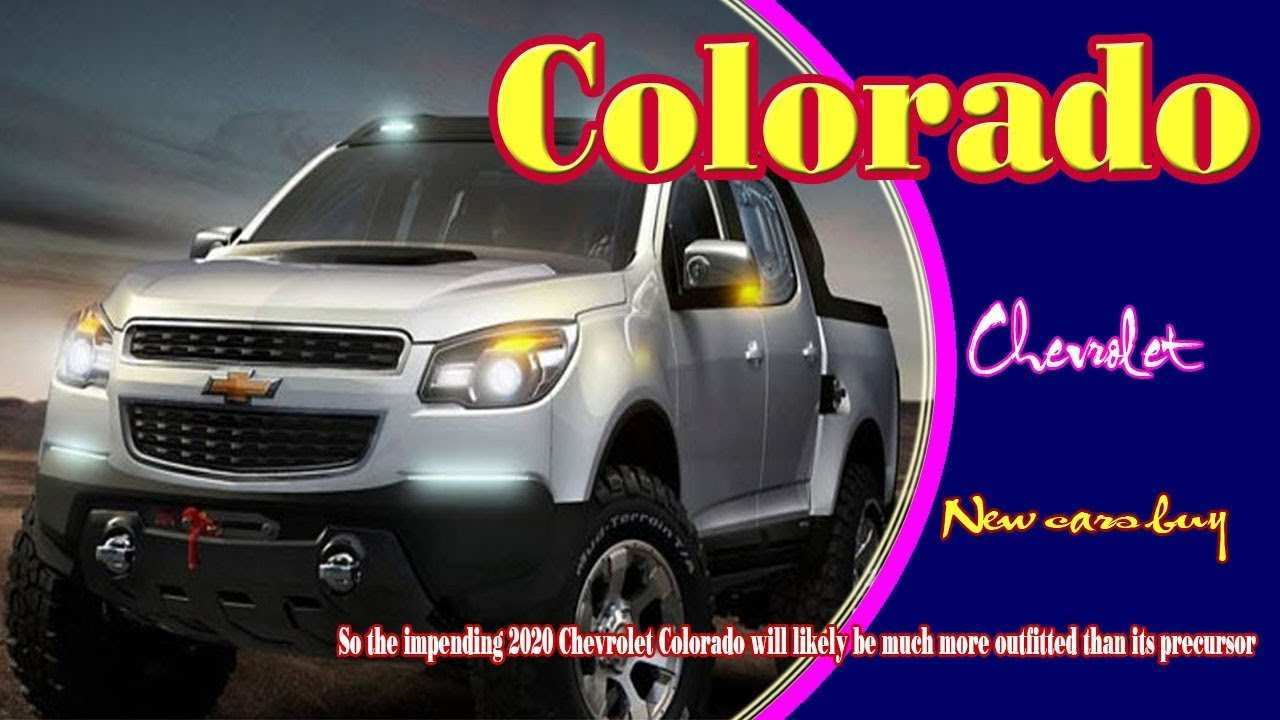 92 New 2020 Chevy Colorado Going Launched Soon Review