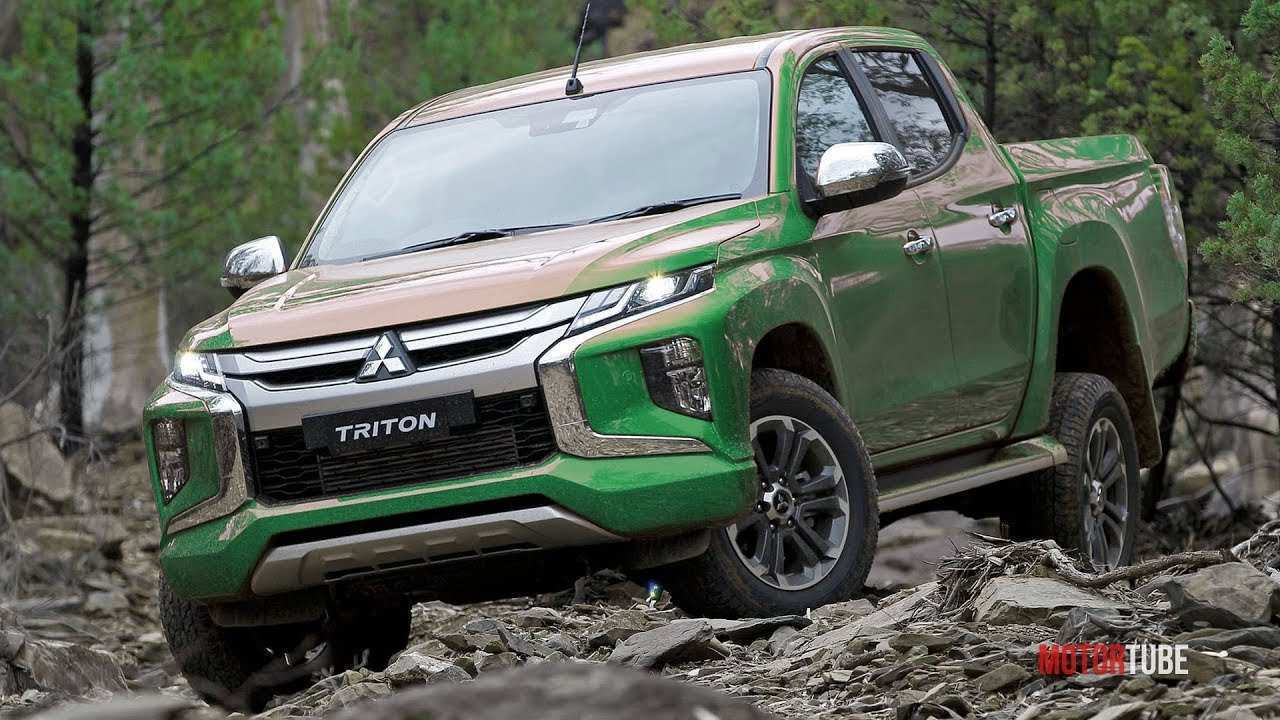 92 New 2020 Mitsubishi Triton Redesign And Concept