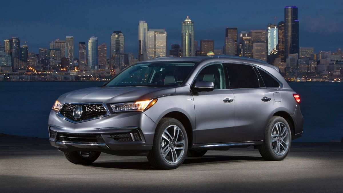 92 The 2019 Acura MDX Hybrid Photos