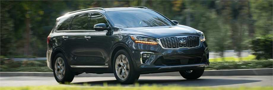 92 The 2019 Kia Sorento Spy Shoot