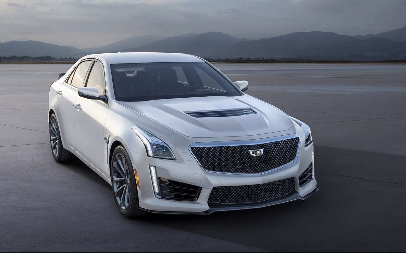 92 The 2020 Cadillac ATS V Coupe New Concept