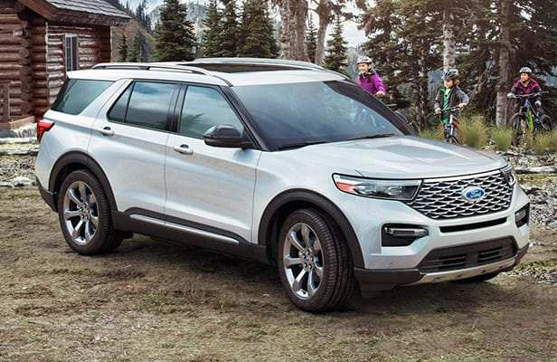 92 The 2020 Ford Explorer Limited Pricing