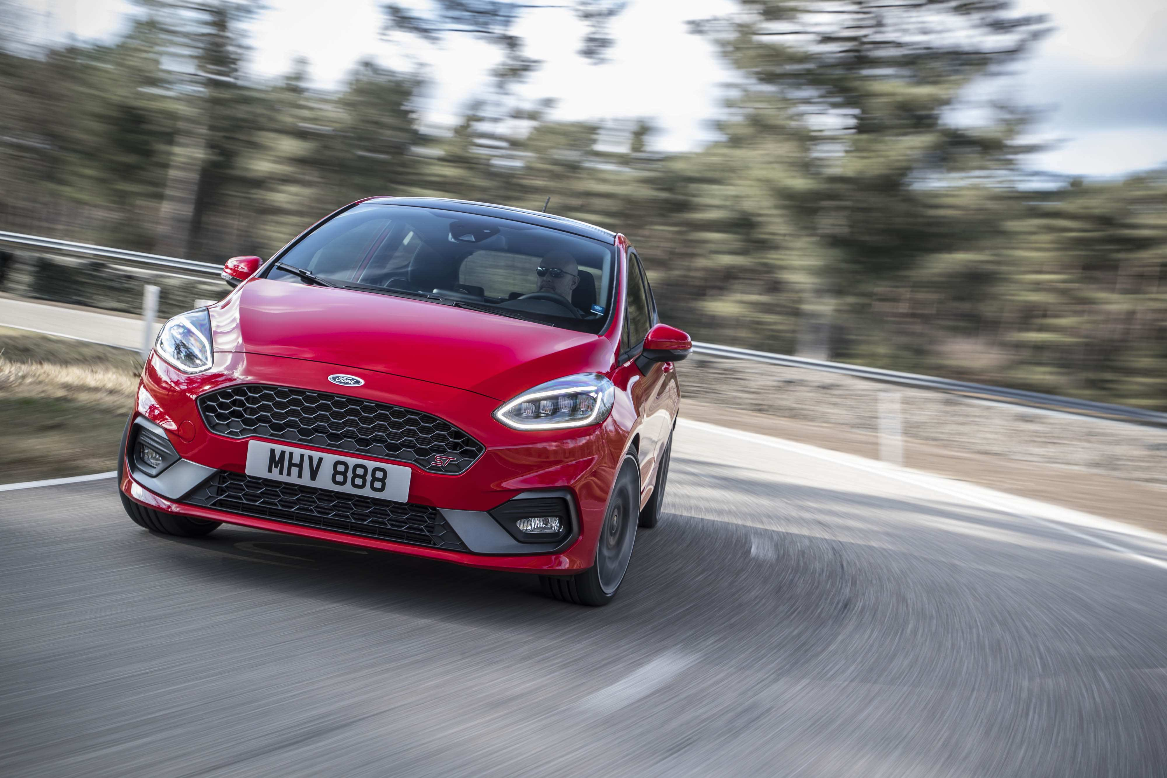 92 The 2020 Ford Fiesta Speed Test