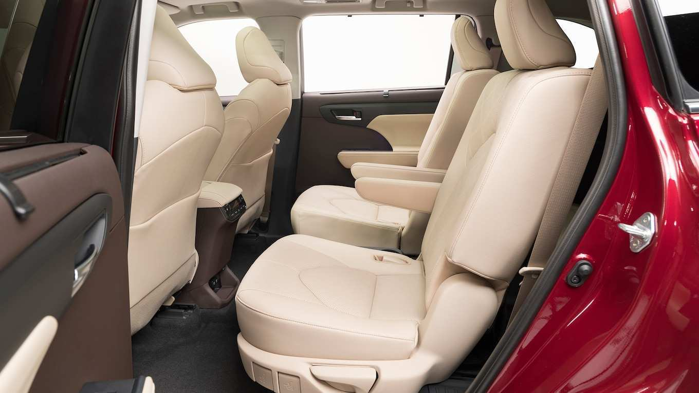 92 The Best Toyota Highlander 2020 Interior Review and Release date