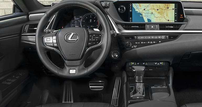 93 A 2019 Lexus Es 350 Interior Overview