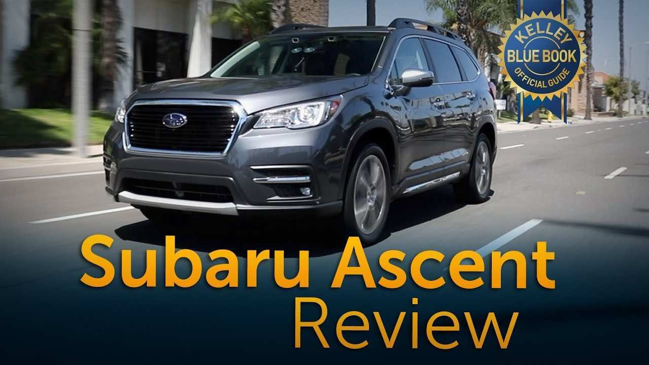 93 A 2019 Subaru Ascent Kbb Performance And New Engine