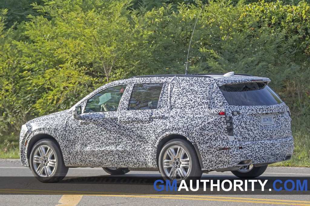 93 A 2020 Cadillac SRXSpy Photos Overview
