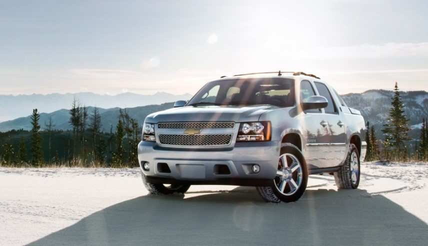 93 A 2020 Chevy Avalanche Engine