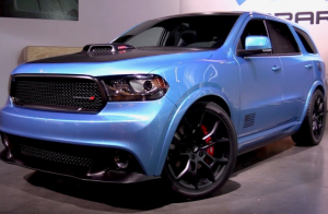 93 A 2020 Dodge Durango Srt Configurations