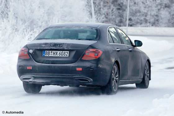 93 A 2020 Mercedes Benz E Class Spy Shoot