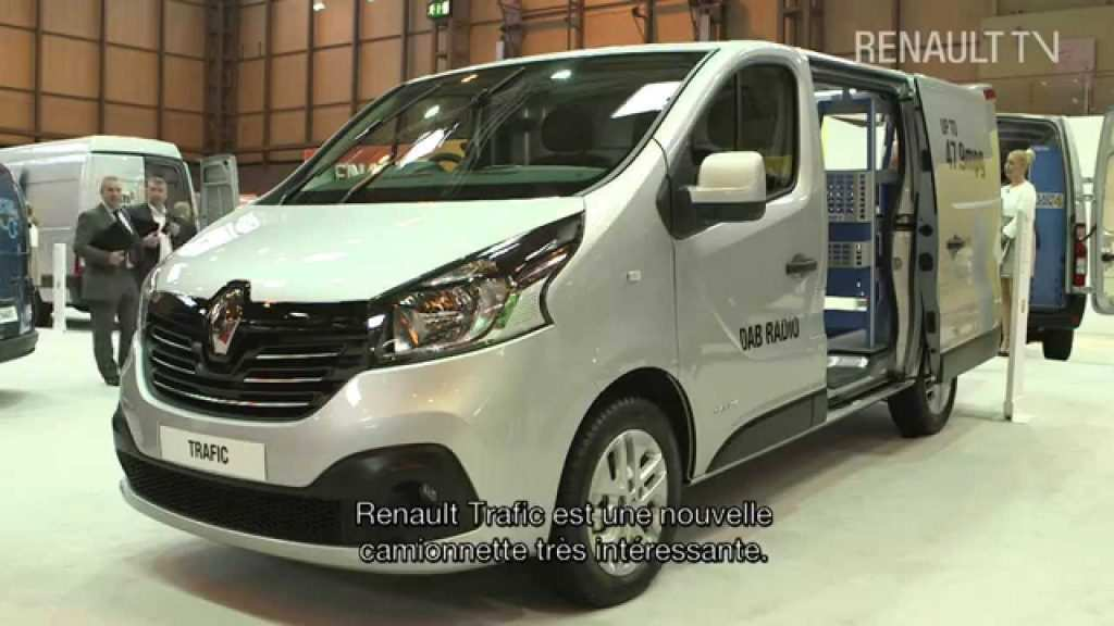 93 A 2020 Renault Trafic Exterior And Interior