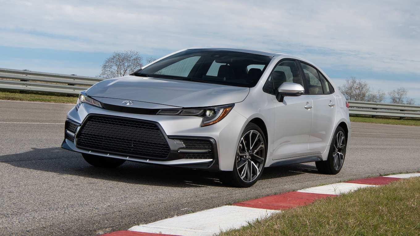 93 A 2020 Toyota Corolla Hatchback Speed Test