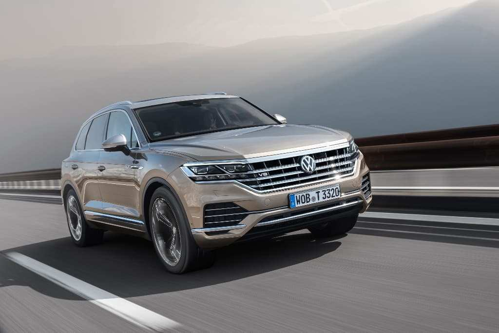 93 A 2020 Volkswagen Touareg Ratings