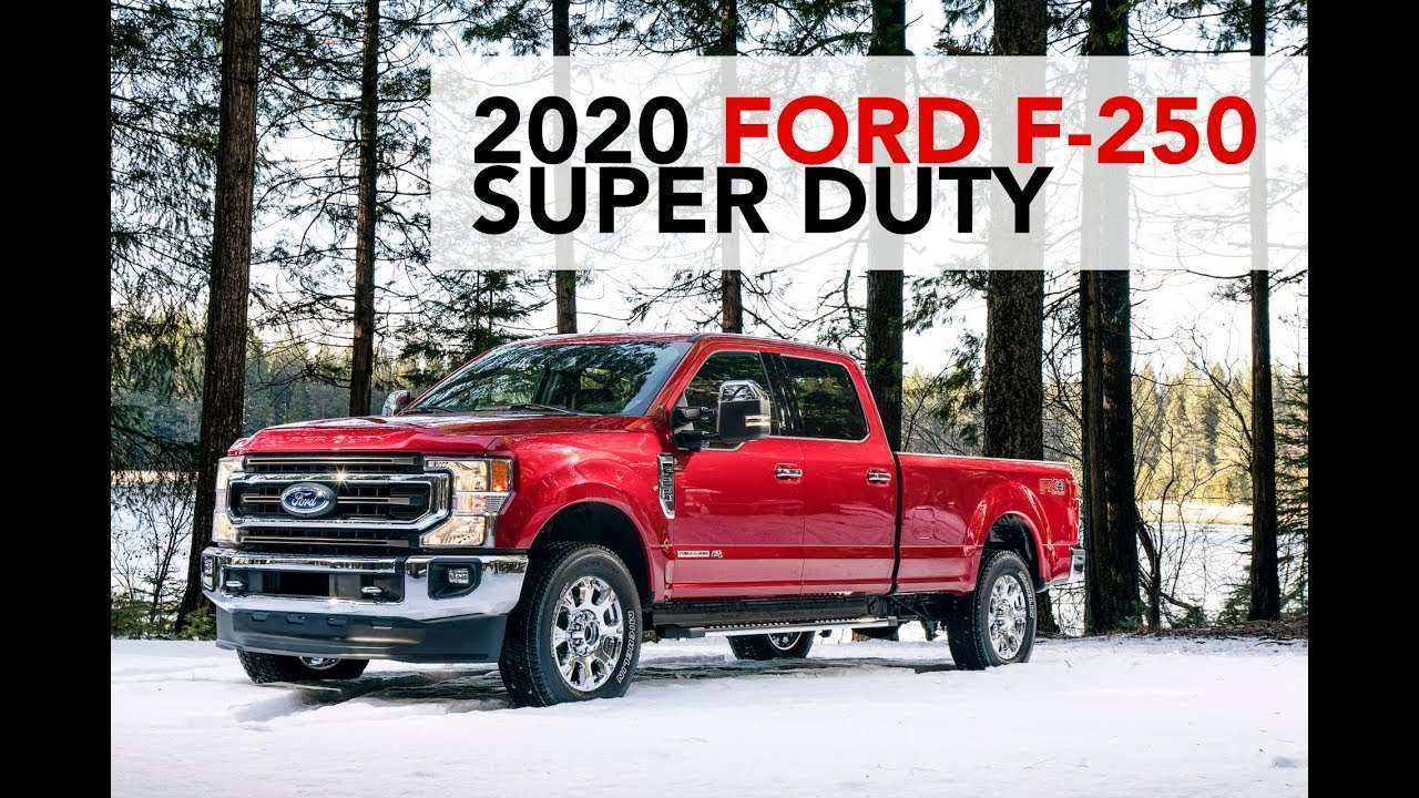93 All New 2020 Ford F 250 Performance And New Engine