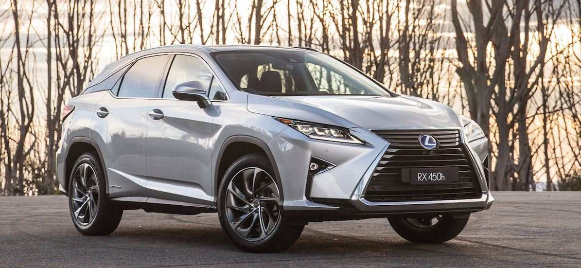 93 All New 2020 Lexus RX 450h Ratings