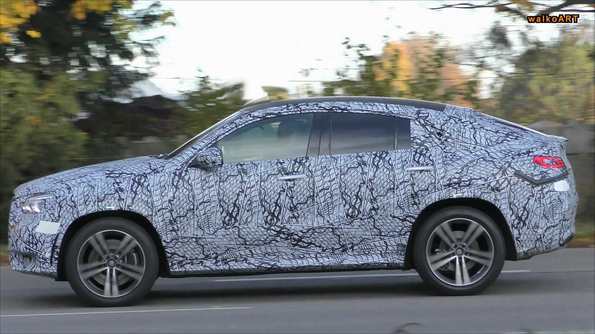 93 All New 2020 Mercedes Gle Coupe Redesign And Concept