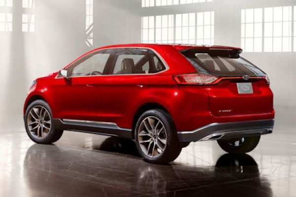 93 All New Ford Edge New Design New Concept