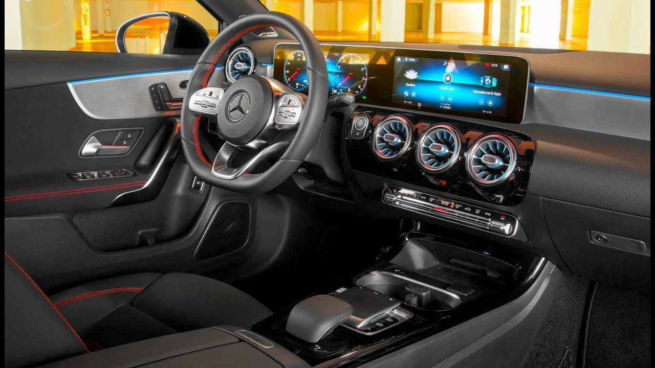 93 All New Mercedes A Class 2019 Interior Redesign And Review