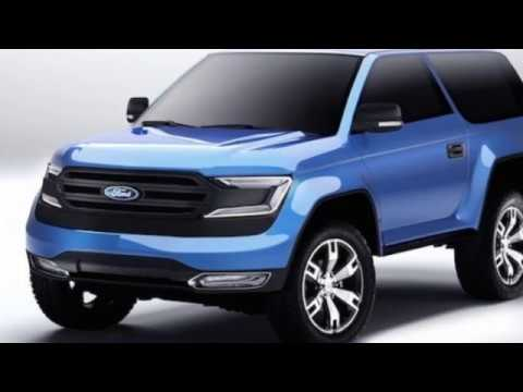 93 Best 2019 Ford Bronco Concept