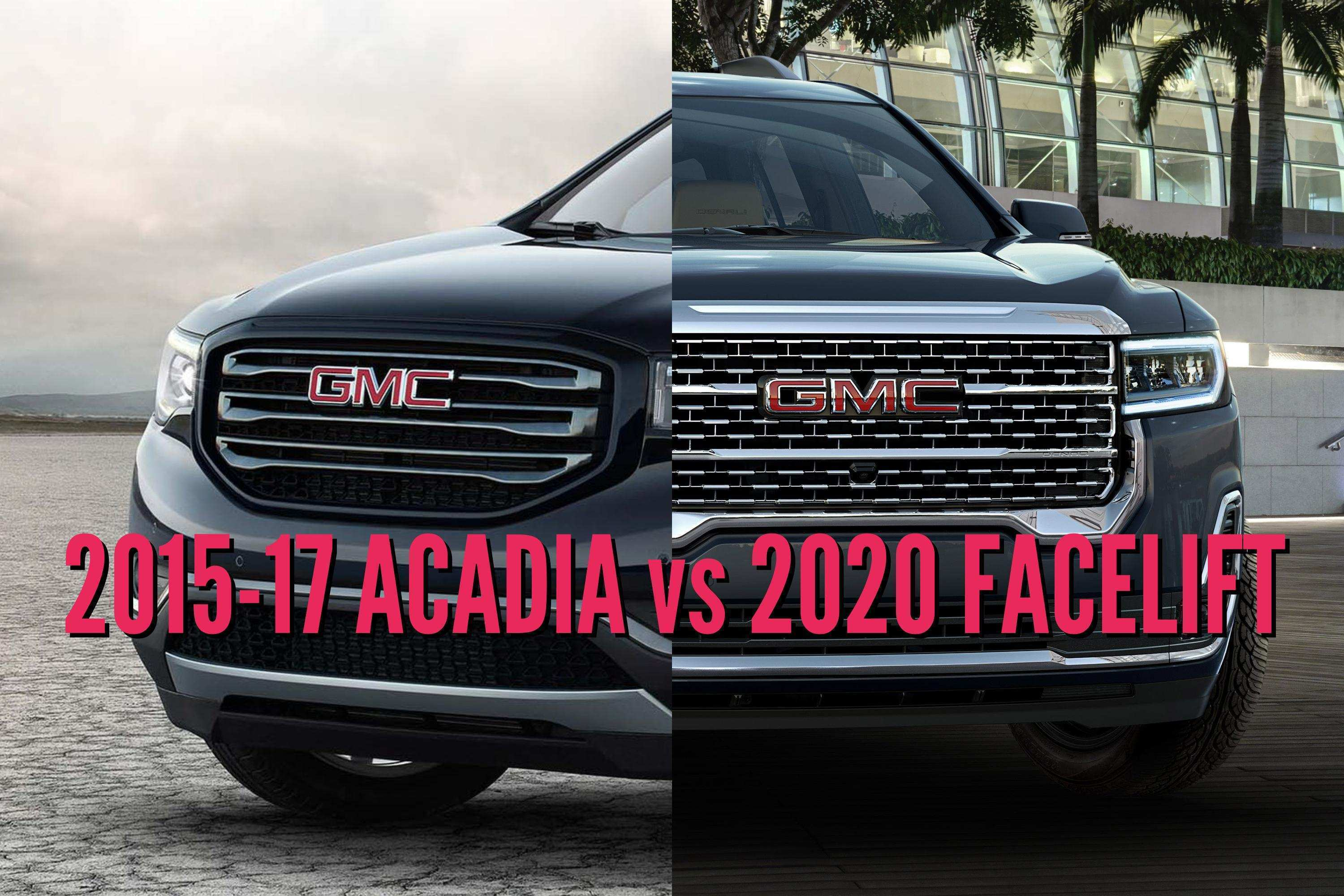 93 Best 2019 Vs 2020 GMC Acadia Redesign